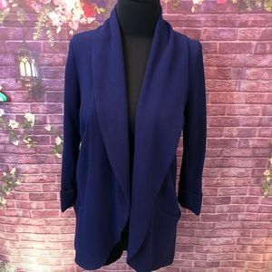 Wilfred Chevalier Relaxed Open Front Blazer 2